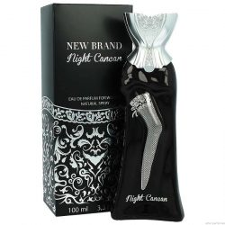 Parfum New Brand  Night Cancan  Women 100ml EDP / Replica Gucci - Guilty Black