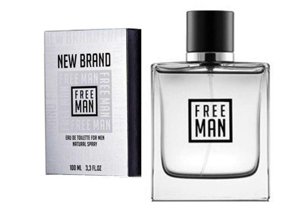 Parfum New Brand Free Man 100ml Edt Replica Guerlain Lhomme
