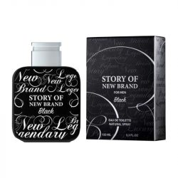 Parfum  Story of New Brand Black 100ml EDT / Replica  Mont Blanc - Legend