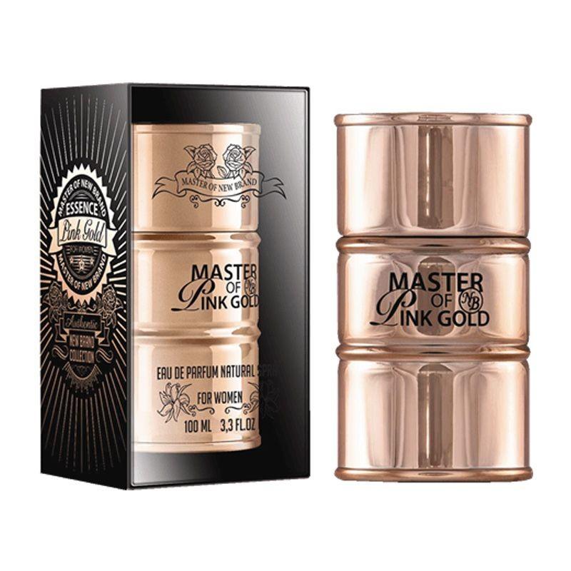 Parfum New Brand Master Essence Gold Pink Women 100ml EDP