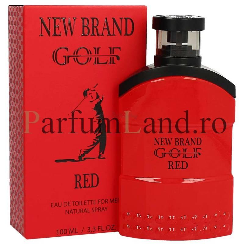Parfum New Brand Golf Red Men 100ml EDT / Replica Ralph Lauren- Polo Red